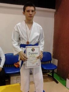 martie 2013 - Campionatul Național de Karate locul III kumite, Timișoara