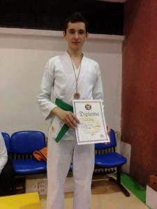 Campionatul Național de Karate Timișoara, martie 2013, locul III kata